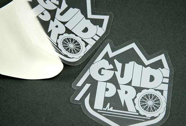 Die Cut Clear Stickers Guide Pro